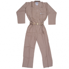 COVERALL 100% COTTON BEIGE SMALL
