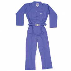COVERALL 65/35 LIGHTBLUE LARGE