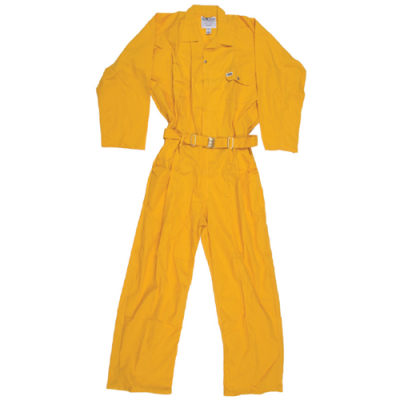 COVERALL 65/35 YELLOW XXL
