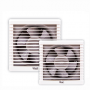 EXHAUST FAN SQUARE- A-/-SHUTR ABS  (2)