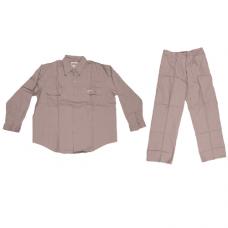 PANT SHIRT POLYSTER 65% / COTTON 35% - BEIGE -XXL