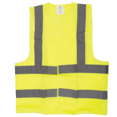 SAFETY JACKET GREEN FABRIC TYPE XXL
