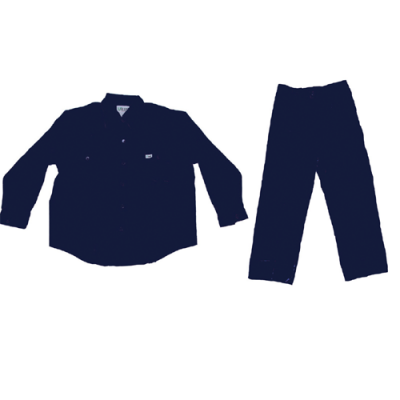 PANT SHIRT 100% COTTON - DARK BLUE -MEDIUM