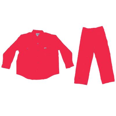 PANT SHIRT POLYSTER 65% / COTTON 35% – RED XXXL